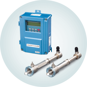 Wall mount Insertion Ultrasonic Flow Meter 6730